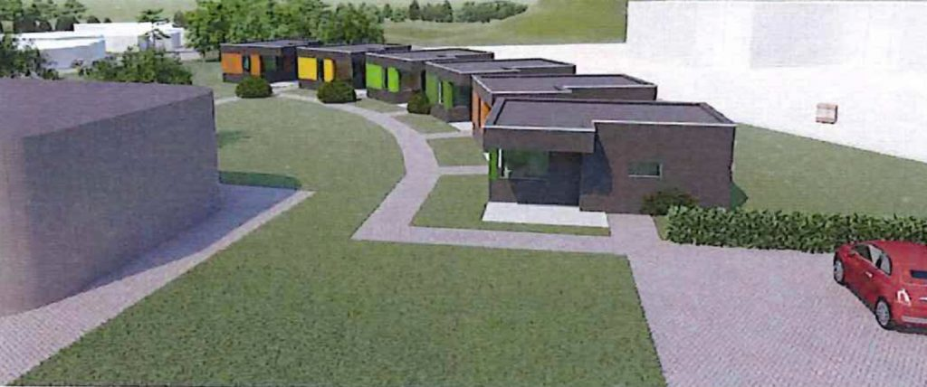 6 Tiny Houses bij Zorgopvang De Marene